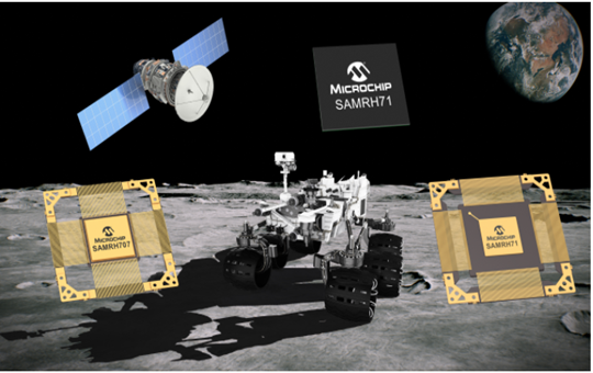 Microchip announced the expansion of the radiation-resistant ArmÒ microcontroller (MCU) product lineup for space systems.